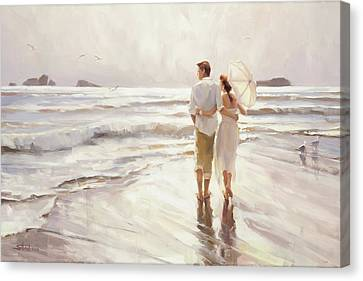 Woman Canvas Print - The Way That It Should Be by Steve Henderson