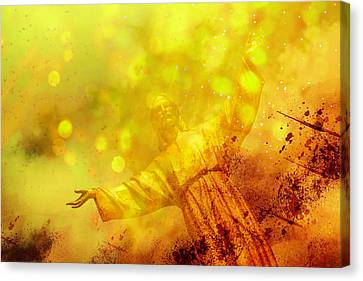 Canvas Print featuring the photograph The Way, The Truth, The Life by Joel Witmeyer