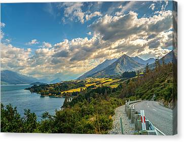 The Way To Glenorchy Canvas Print by James Udall