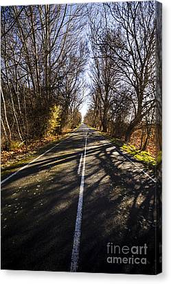 Scenic Drive Canvas Print - The Way To Swansea by Jorgo Photography - Wall Art Gallery