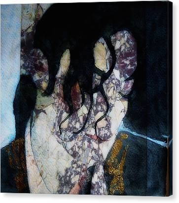 Dancer Canvas Print - The Way You Make Me Feel by Paul Lovering