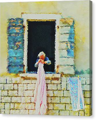 The Ways Of Our Grandmothers Canvas Print by KaFra Art