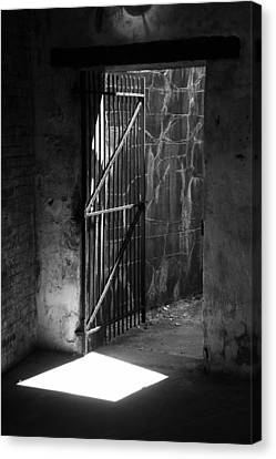 The Weathered Wall Canvas Print