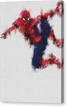 Parker Canvas Print - The Web by Miranda Sether