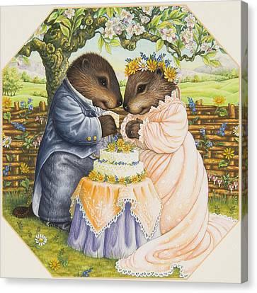 The Wedding Cake Canvas Print