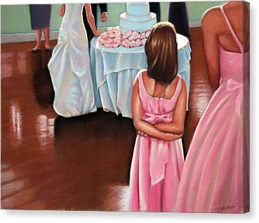 The Wedding Planner Canvas Print by Christopher Reid