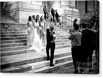 Maid Of Honor Canvas Print - The Wedding Shoot by John Rizzuto