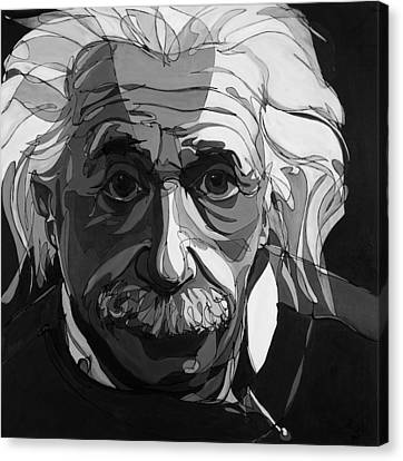 The Weight Of Genius Canvas Print by John Gibbs