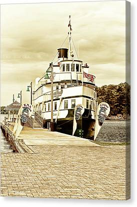 The Wenonah II Canvas Print