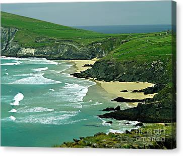 The West Coast Of Ireland Canvas Print by Patricia Griffin Brett