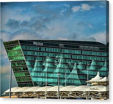 The Westin At Denver Internation Airport Canvas Print
