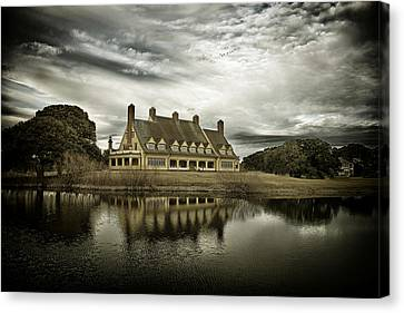 The Whalehead Club Canvas Print by Mark Wagoner