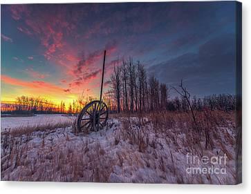 The Wheel Canvas Print by Ian McGregor