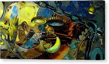 The Wheelwork Of Antikythera  Canvas Print