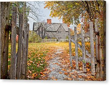 The Whipple House Canvas Print by Susan Cole Kelly