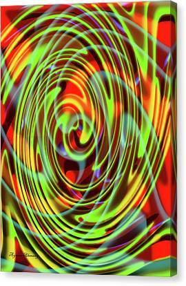 The Whirl Of Life, W5.2e Canvas Print by Ayman Alenany