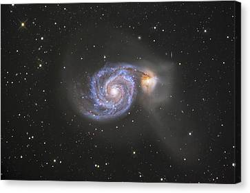 Deep Space Canvas Print - The Whirlpool Galaxy by Robert Gendler