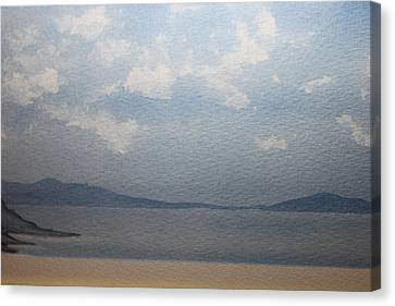 The White Clouds Canvas Print