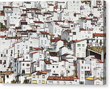 the whiter side of Casares Canvas Print
