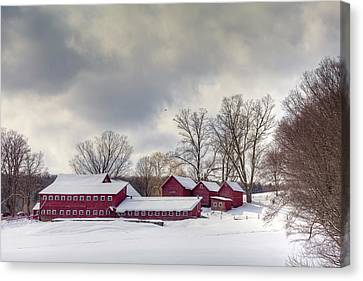 Canvas Print featuring the photograph The Williams Farm by Susan Cole Kelly