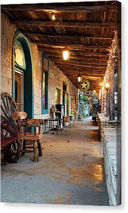The Wimberley Square  Canvas Print by Robert Anschutz
