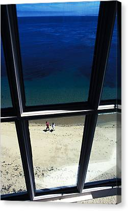 The Window Canvas Print by Carl Purcell