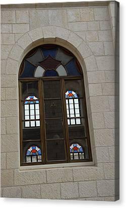 The Windows Of Jerusalem-1 Canvas Print by Alex Kantor