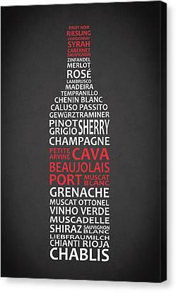 The Wine Connoisseur Canvas Print by Mark Rogan