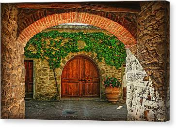 The Winery's Entrance Canvas Print