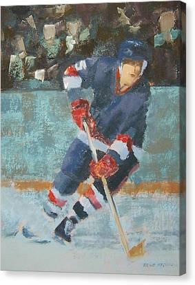 The Winger Canvas Print by Ernie Ferguson