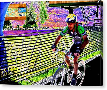 The Winner Canvas Print by Peter  McIntosh