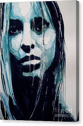 Sadness Canvas Print - The Winner Takes It All by Paul Lovering