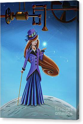 The Wishmaker Canvas Print by Cindy Thornton