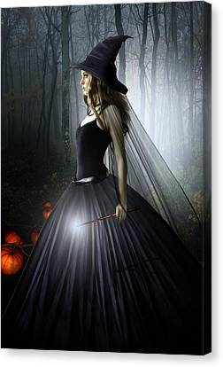 The Witching Hour Canvas Print by Julie L Hoddinott