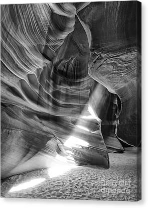 The Wizard Antelope Canyon Navajo Nation Page Arizona Canvas Print by Silvio Ligutti