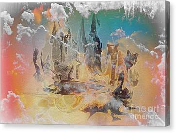 The Wizard By Sherriofpalmsprings Canvas Print