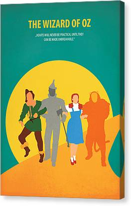 The Wizard Of Oz Canvas Print by Fraulein Fisher