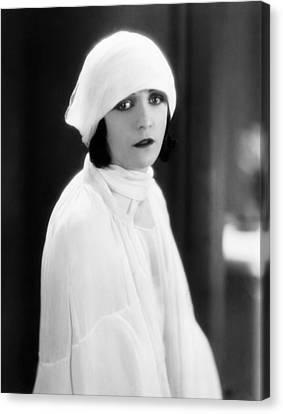 The Woman On Trial, Pola Negri, 1927 Canvas Print