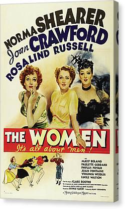 The Women - It's All About Men 1939 Canvas Print