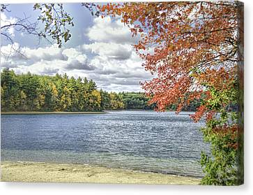 Canvas Print featuring the photograph The Wonders Of Walden by Ike Krieger