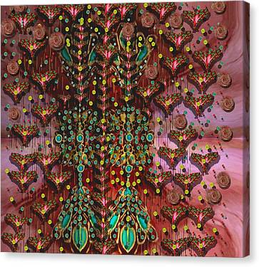 The Wood Of Paradise Canvas Print by Pepita Selles