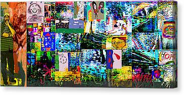 The Work Canvas Print by Noredin Morgan