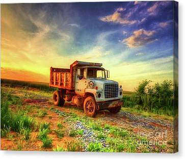 The Workhorse Canvas Print by Lois Bryan