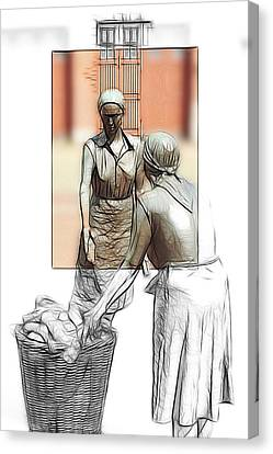 The Working Women 1900 Canvas Print by Steve K