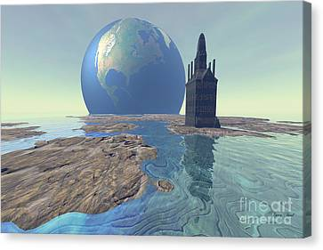 The World Turns Canvas Print by Corey Ford