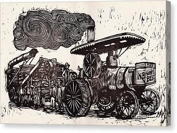 The World's Best Canvas Print by Mathew Luebbert