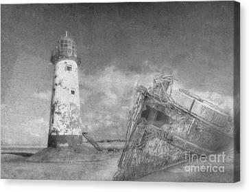 The Wrecks  Canvas Print by Steev Stamford