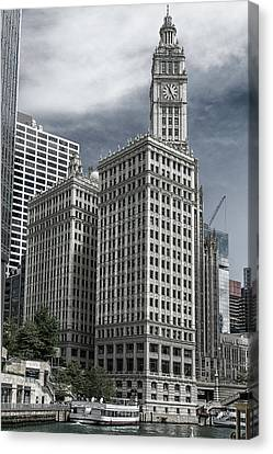 The Wrigley Building Canvas Print by Alan Toepfer