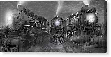 The Yard Panoramic Canvas Print by Mike McGlothlen