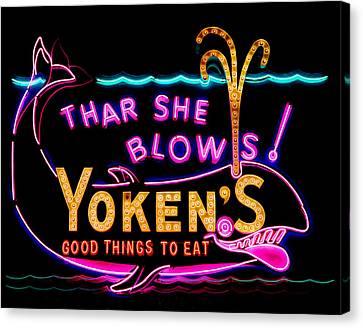 The Yoken's Sign 001 Canvas Print